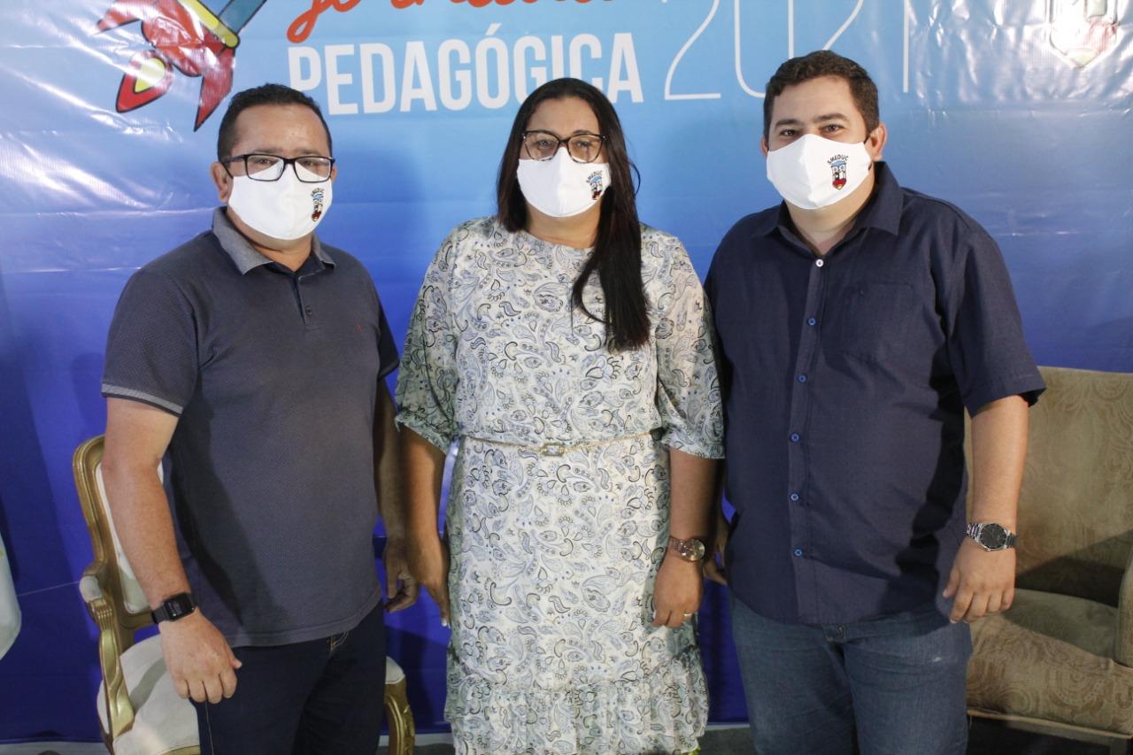 Jornada Pedagógica marca início do ano escolar 2021 em Jacaraú.