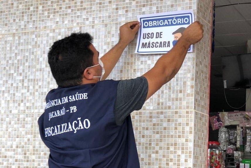 Covid-19: Secretaria de Saúde de Jacaraú reforça medidas preventivas.