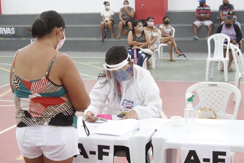 Secretaria de Assistência Social faz cadastramento da Páscoa com Cidadania.
