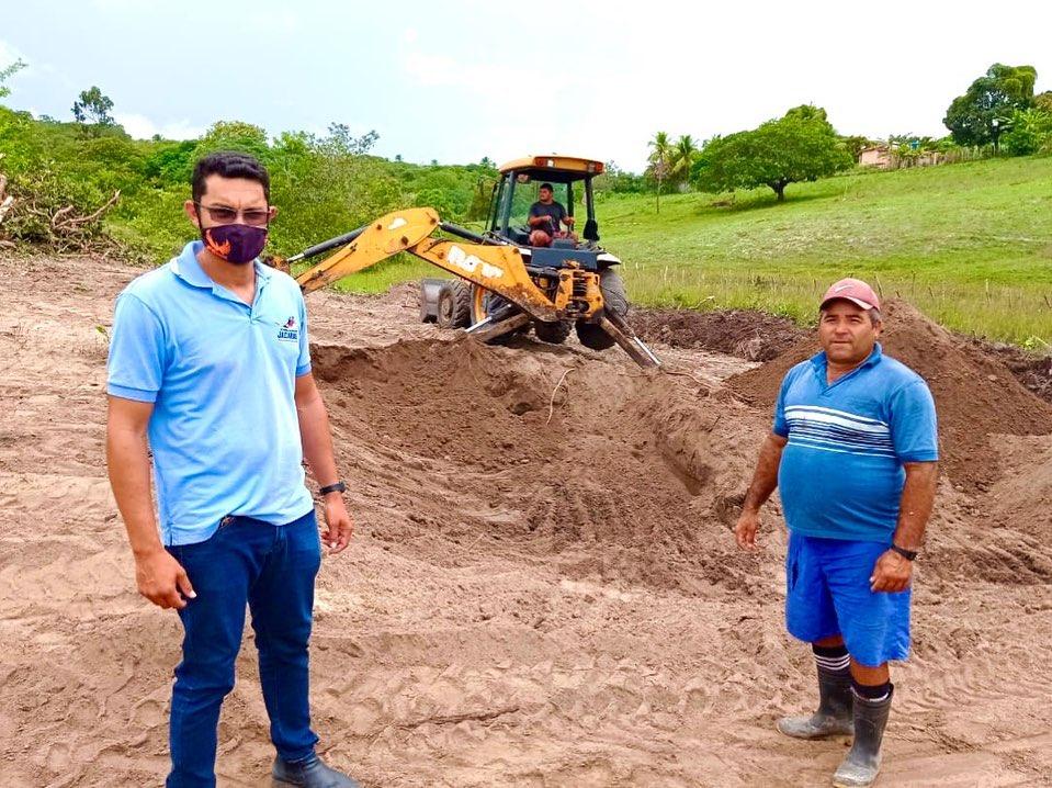 Governo Municipal de Jacaraú realiza investimentos para fortalecimento da piscicultura.