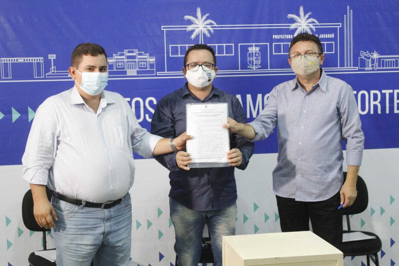 Em live de 100 dias, Governo Municipal de Jacaraú lança Plano Moderniza, um pacote de obras, ações e serviços com investimentos de 10 milhões de reais.