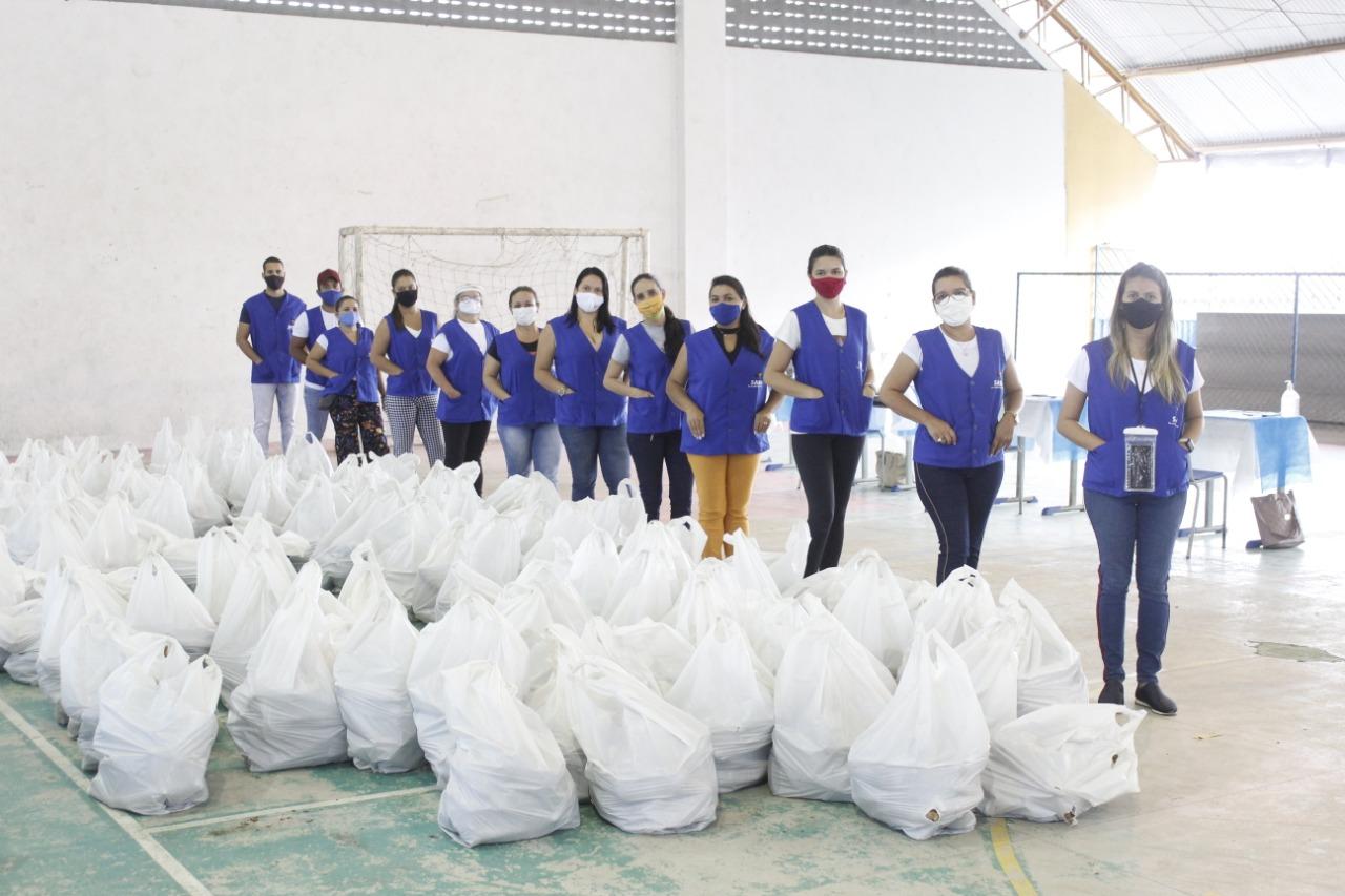 Governo Municipal realiza nova entrega de alimentos do PAA.