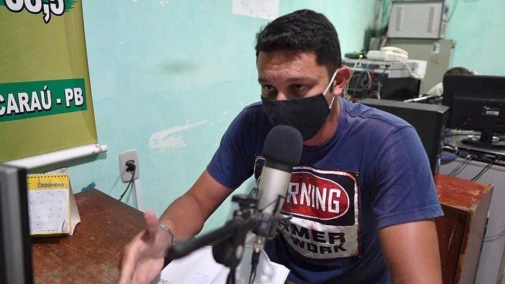 Secretário de Agricultura e Desenvolvimento Econômico concede entrevistas nas rádios Talismã FM e Alvorada FM.