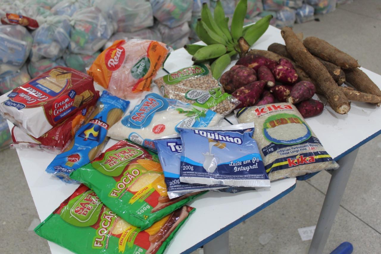 Governo Municipal de Jacaraú, iniciará entrega dos kits de alimentação para famílias de alunos da Rede Municipal.