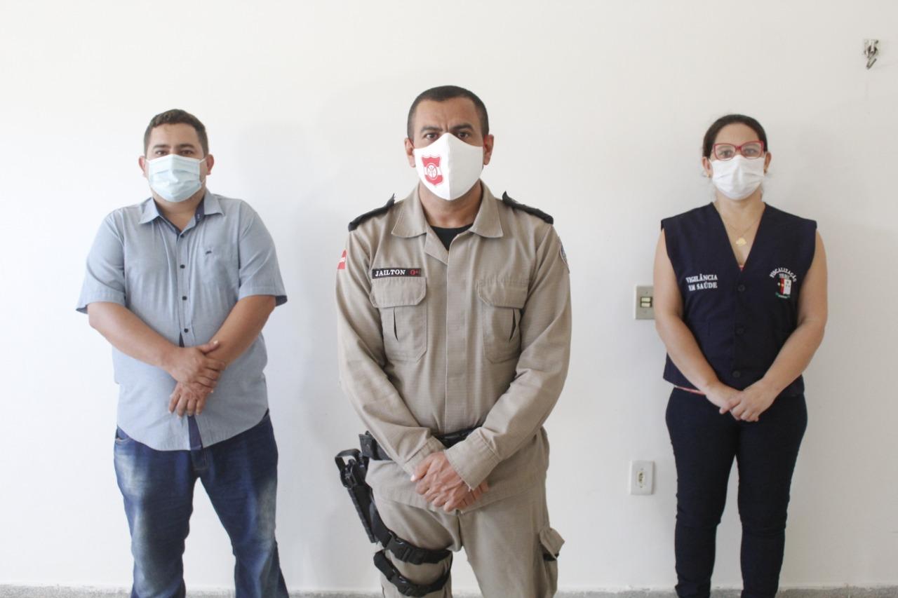 Polícia Militar reforça apoio a fiscalização no combate à Covid-19.