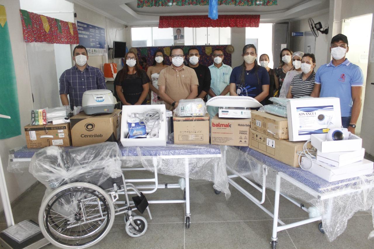 Governo Municipal investe em equipamentos para unidades de saúde do município.