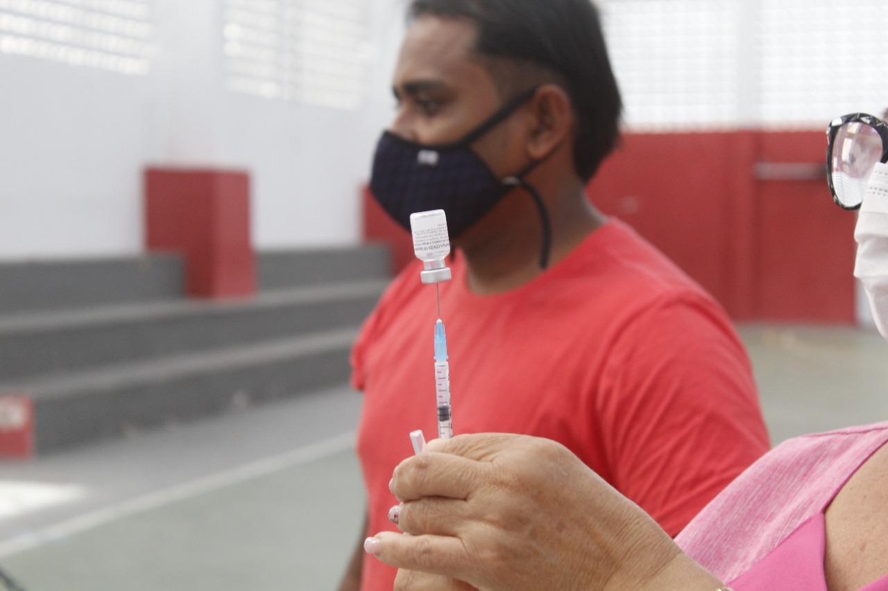 Jacaraú começa a vacinar pessoas de 34 anos acima contra a Covid-19, a partir de segunda-feira (19).