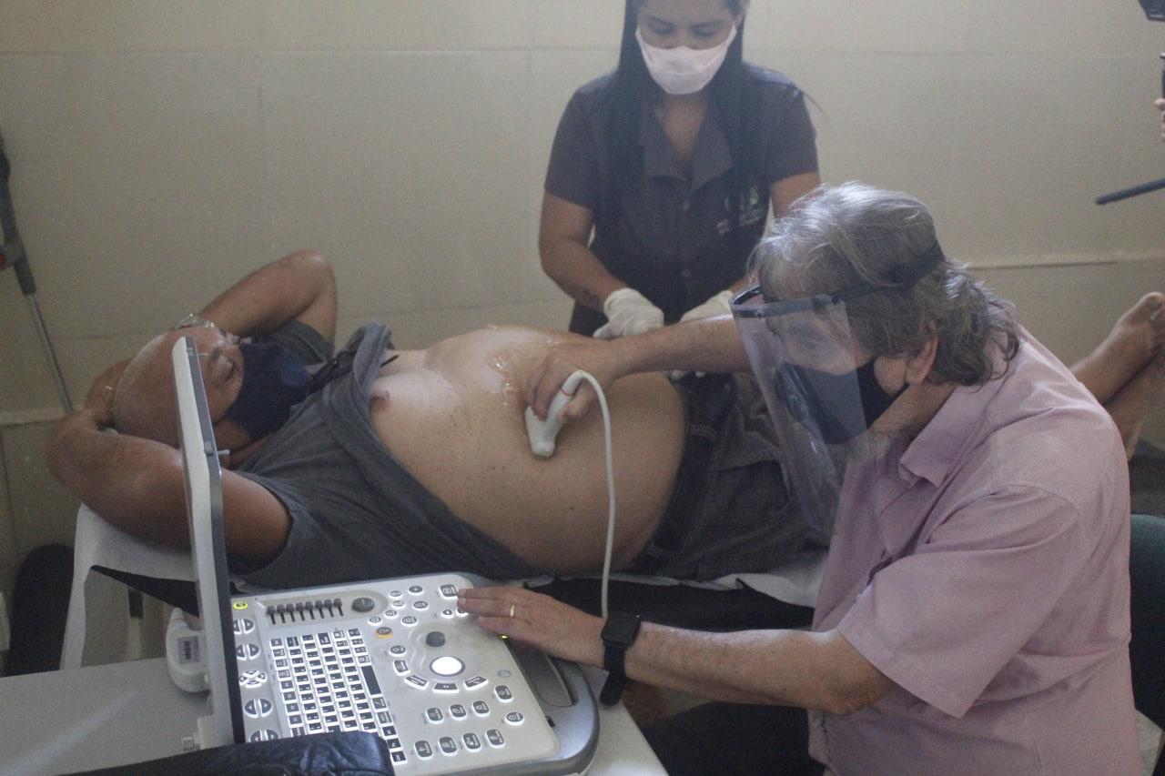 Jacaraú realizou mutirão de ultrassonografia para gestantes e idosos.