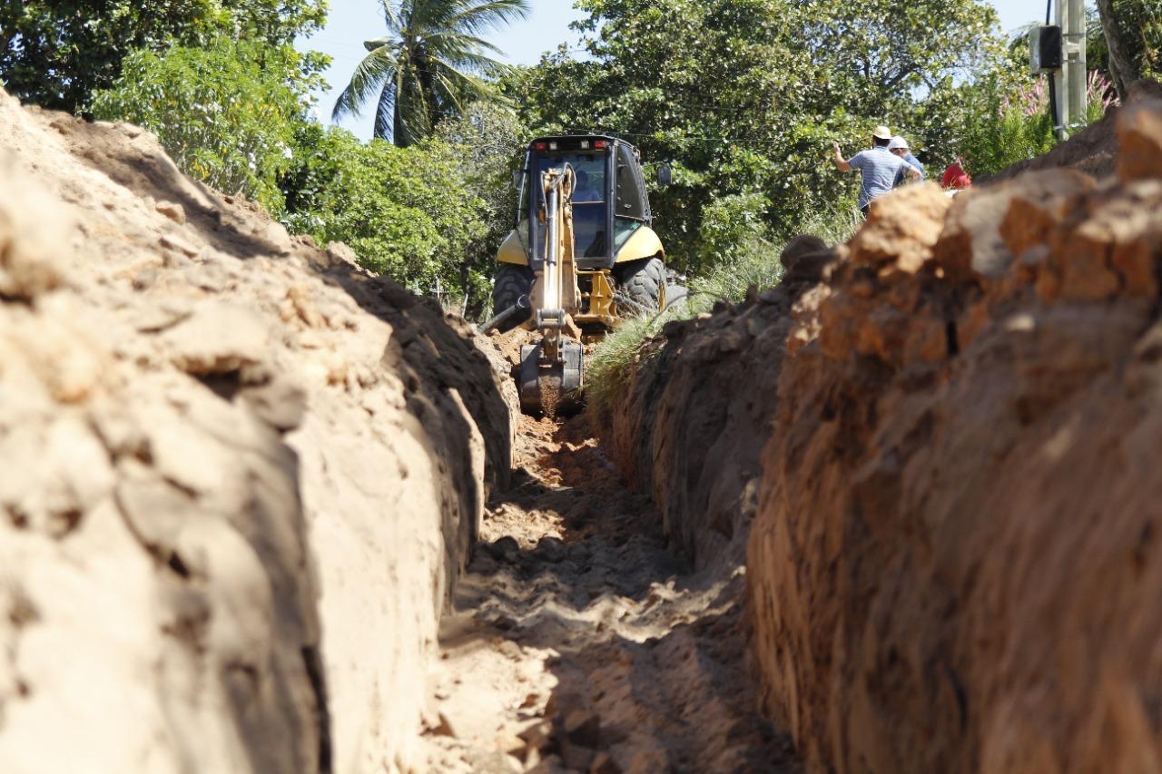 Governo promove melhorias na rede hídrica em comunidade da zona rural.