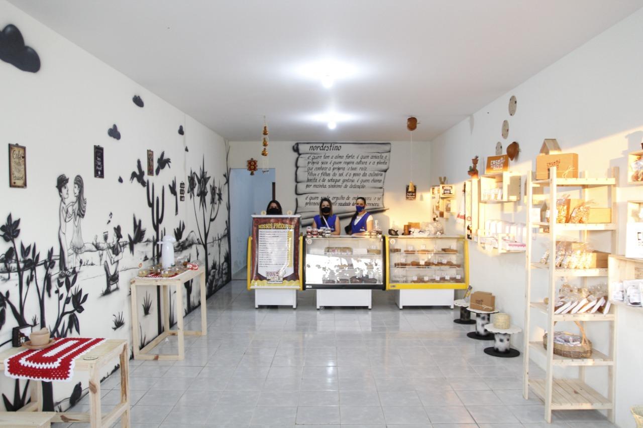 Casa do Bolo é inaugurada, em Jacaraú.