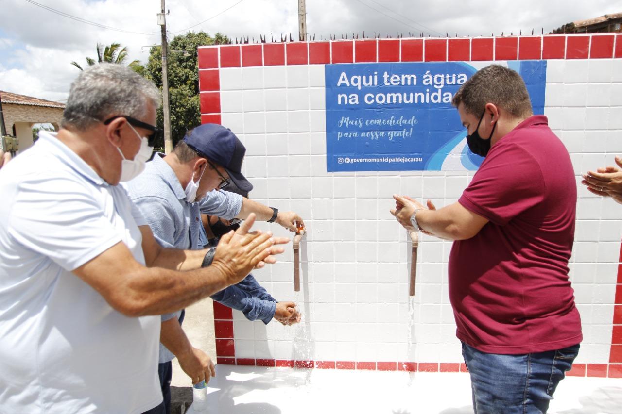 Novo sistema de abastecimento d´água é entregue no Distrito Timbó.