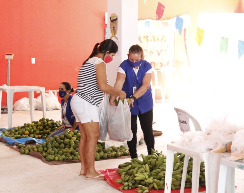 Governo Municipal de Jacaraú realiza entrega de alimentos do PAA.
