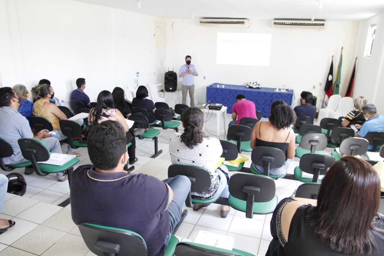 Governo de Jacaraú realiza segunda capacitação para servidores.