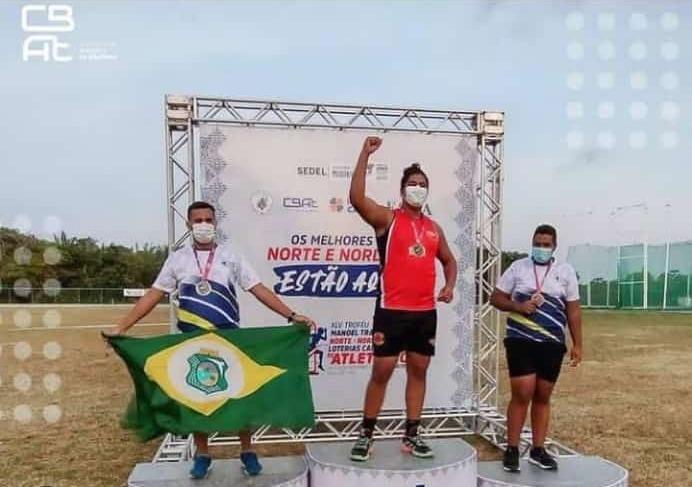 Atletas de Jacaraú participam do XLV Troféu Norte-Nordeste de Atletismo e trazem na bagagem medalhas, experiência e aprendizado.