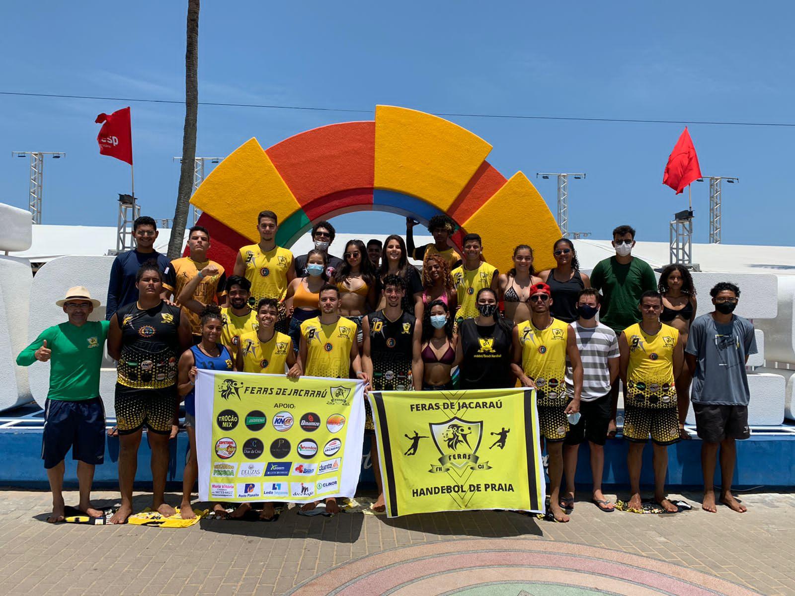 """Equipe de handebol """"Feras de Jacaraú"""" colhe frutos de um trabalho com dedicação e determinação."""